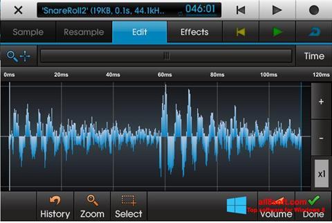 Képernyőkép NanoStudio Windows 8