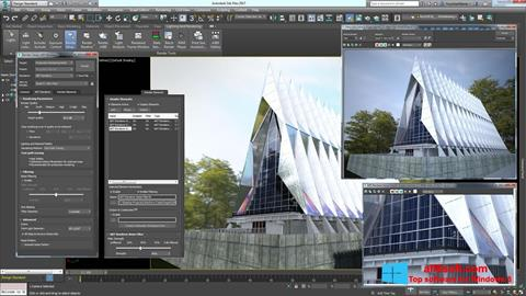 Képernyőkép 3ds Max Windows 8