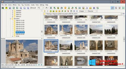 Képernyőkép FastStone Image Viewer Windows 8