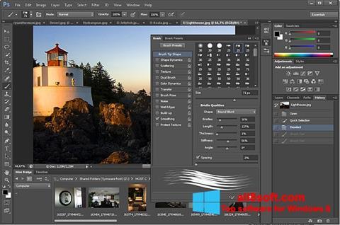 Képernyőkép Adobe Photoshop Windows 8