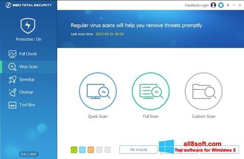 Képernyőkép 360 Total Security Windows 8