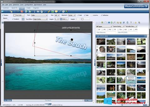 Képernyőkép Ashampoo Photo Commander Windows 8