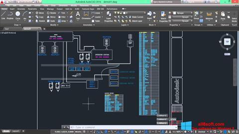 Képernyőkép AutoCAD Electrical Windows 8