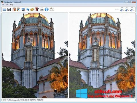 Képernyőkép FotoSketcher Windows 8