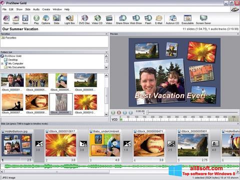 Képernyőkép ProShow Gold Windows 8
