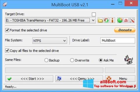 Képernyőkép Multi Boot USB Windows 8