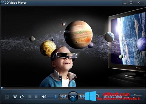 Képernyőkép 3D Video Player Windows 8