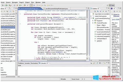 Képernyőkép Java Development Kit Windows 8