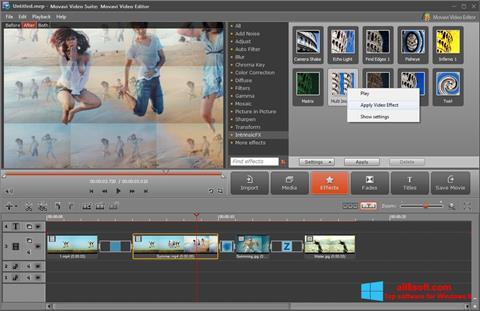 Képernyőkép Movavi Video Suite Windows 8