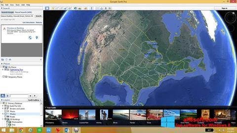 Képernyőkép Google Earth Windows 8
