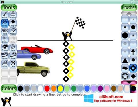 Képernyőkép Tux Paint Windows 8