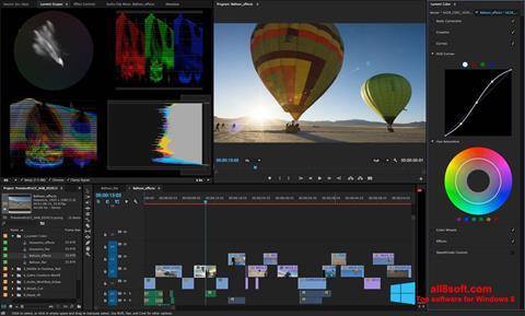 Képernyőkép Adobe Premiere Pro Windows 8