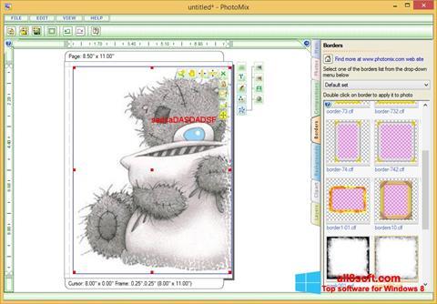 Képernyőkép PhotoMix Collage Windows 8