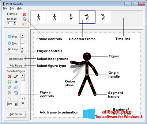 Képernyőkép Pivot Animator Windows 8
