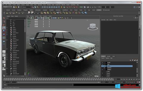 Képernyőkép Autodesk Maya Windows 8