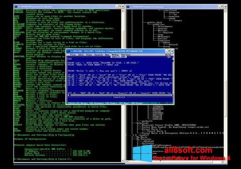 Képernyőkép QBasic Windows 8