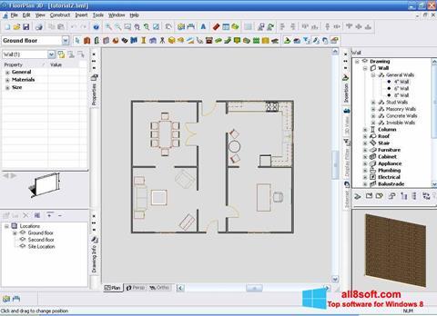 Képernyőkép FloorPlan 3D Windows 8