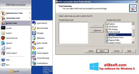 Képernyőkép ERD Commander Windows 8