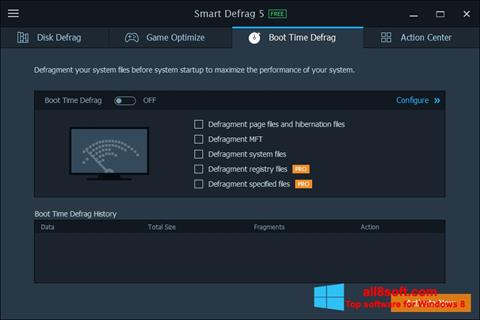 Képernyőkép Smart Defrag Windows 8