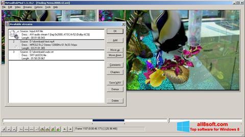 Képernyőkép VirtualDubMod Windows 8