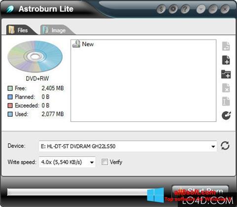 Képernyőkép Astroburn Lite Windows 8