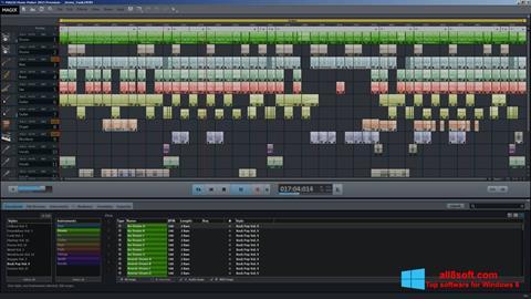 Képernyőkép MAGIX Music Maker Windows 8