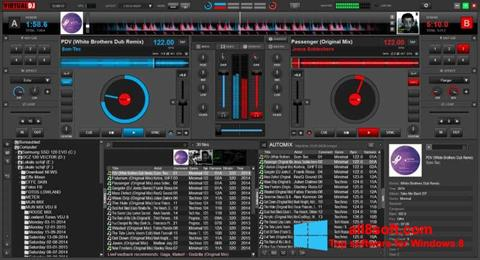 Képernyőkép Virtual DJ Windows 8