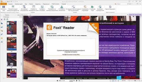Képernyőkép Foxit Reader Windows 8