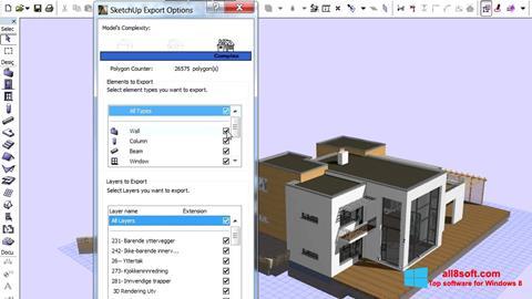 Képernyőkép ArchiCAD Windows 8