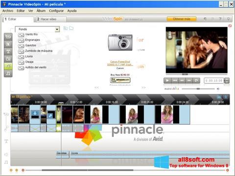 Képernyőkép Pinnacle VideoSpin Windows 8
