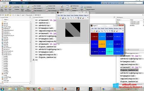 Képernyőkép MATLAB Windows 8