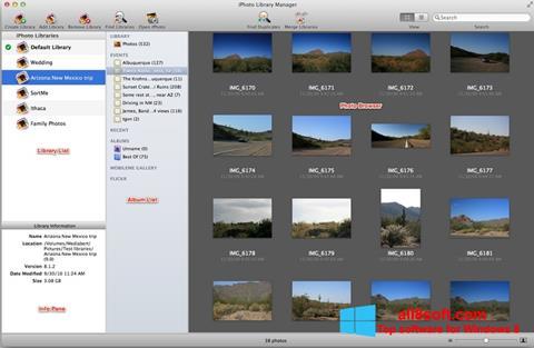 Képernyőkép iPhoto Windows 8