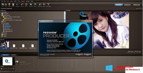 Képernyőkép ProShow Producer Windows 8