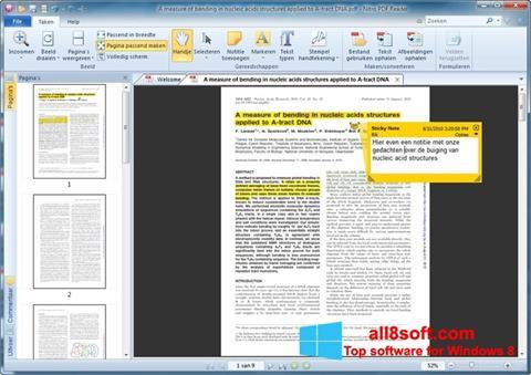 Képernyőkép Nitro PDF Reader Windows 8