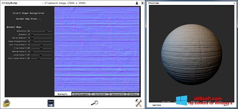 Képernyőkép CrazyBump Windows 8