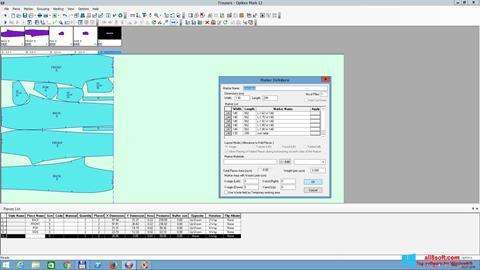 Képernyőkép OptiTex Windows 8