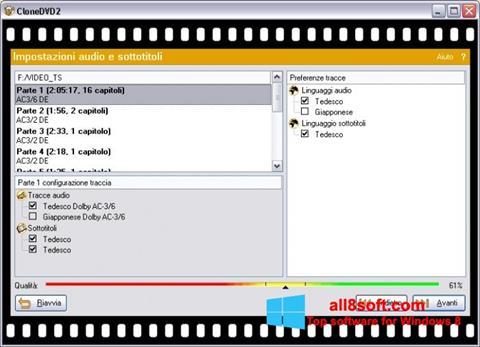 Képernyőkép CloneDVD Windows 8