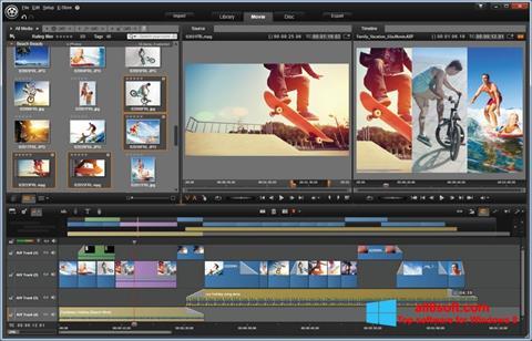 Képernyőkép Pinnacle Studio Windows 8