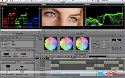 Képernyőkép Avid Media Composer Windows 8
