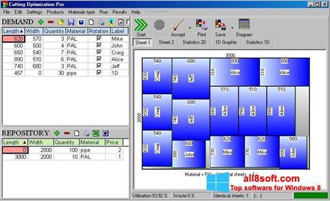 Képernyőkép Cutting Windows 8