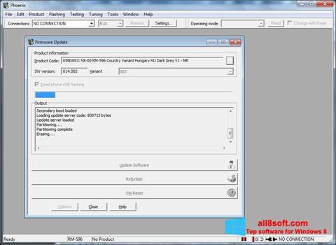 Képernyőkép Phoenix Windows 8