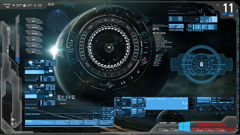 Képernyőkép Rainmeter Windows 8