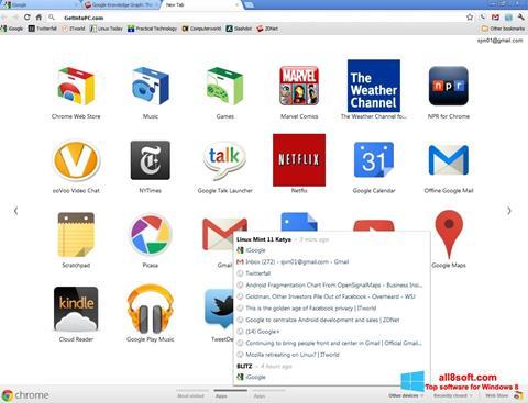 Képernyőkép Google Chrome Offline Installer Windows 8
