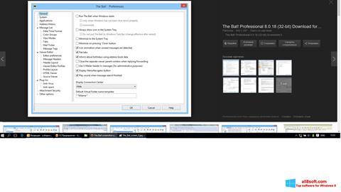 Képernyőkép The Bat! Windows 8