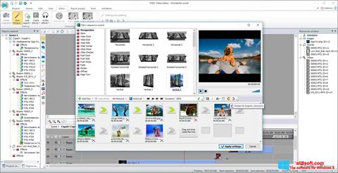 Képernyőkép VSDC Free Video Editor Windows 8