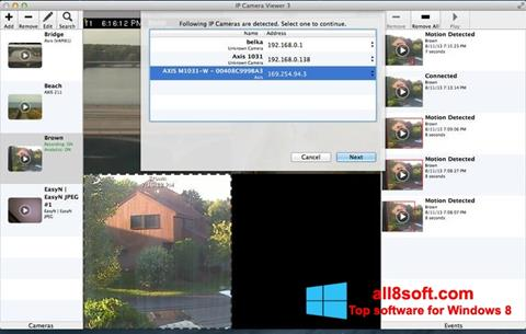 Képernyőkép IP Camera Viewer Windows 8