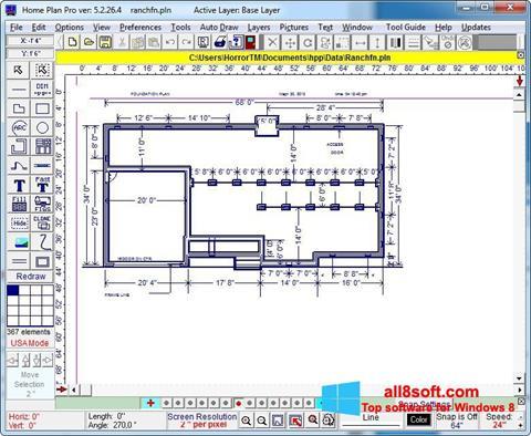 Képernyőkép Home Plan Pro Windows 8