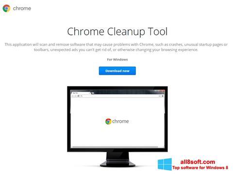 Képernyőkép Chrome Cleanup Tool Windows 8