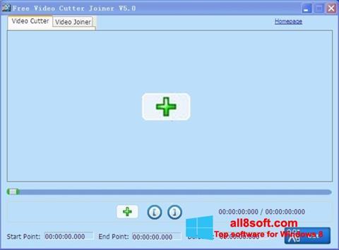 Képernyőkép Free Video Cutter Windows 8