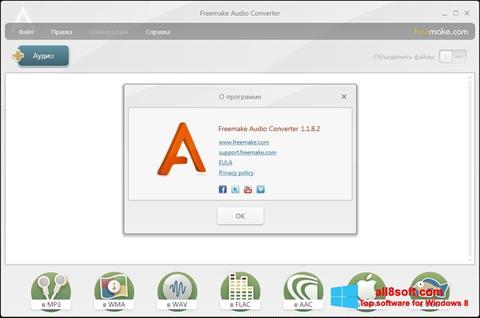 Képernyőkép Freemake Audio Converter Windows 8